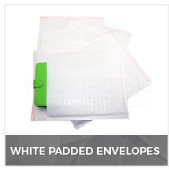 White Padded Envelopes