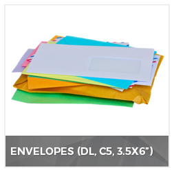 Envelopes (DL,C5,3.5*6))
